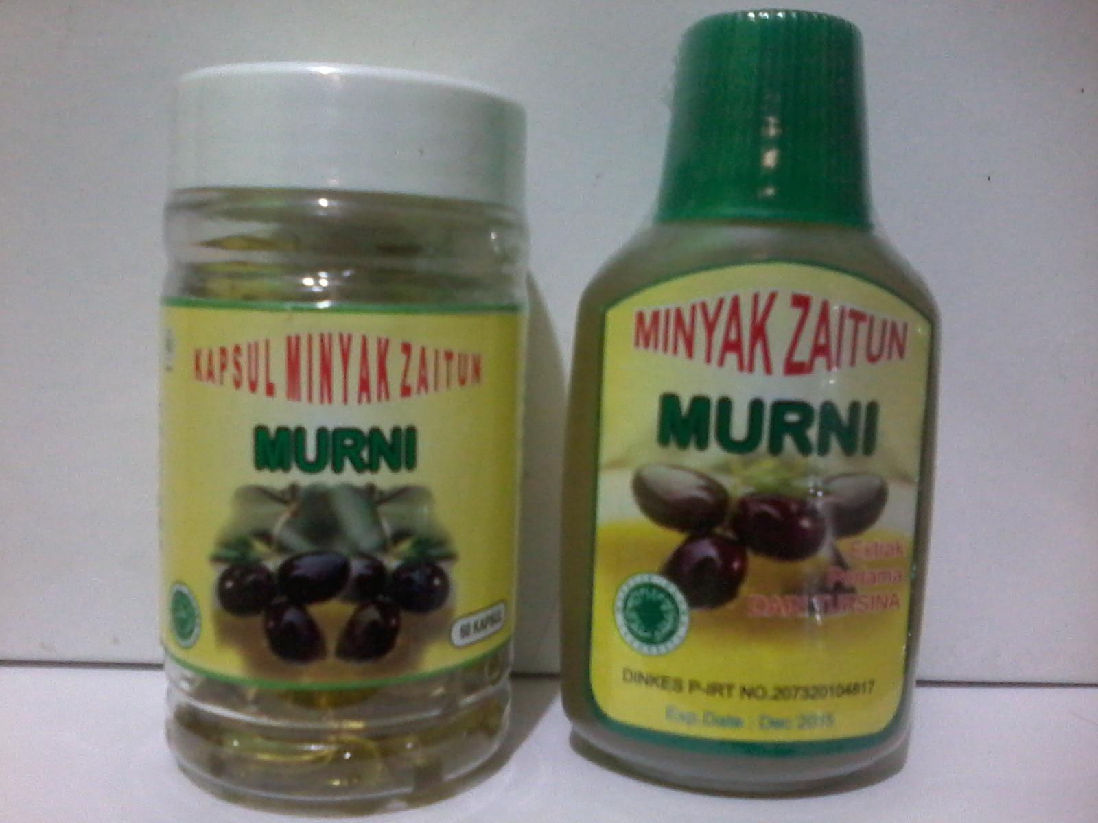 Kegunaan/MANFAAT Khasiat minyak zaitun kapsul untuk kesehatan tubuh ...
