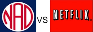 Netflix logo versus National Association for the Deaf logo