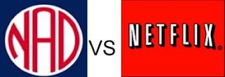 Netflix logo versus National Association for the Deaf logo