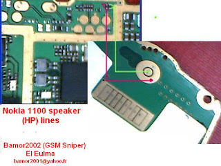 nokia 1100 2300 earpiece repair