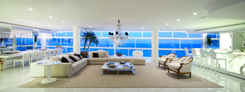 designed by the architect carlos cesar ferreira the 1500 square metre home was designed to maximise the views of the beach and to bring rio de janeiros - Beautiful Home Pictures In The World