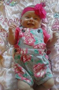 Bella @ 2 1/2 months