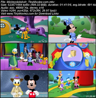 SAM CASH: Mickey Mouse Club House Wizard Of Dizz 2013 DVDRip 500MB