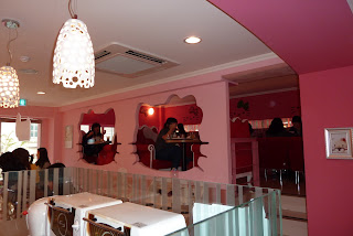 Hello Kitty cafe interior