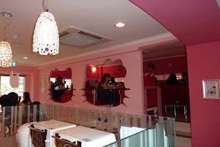 Hello Kitty cafe interior