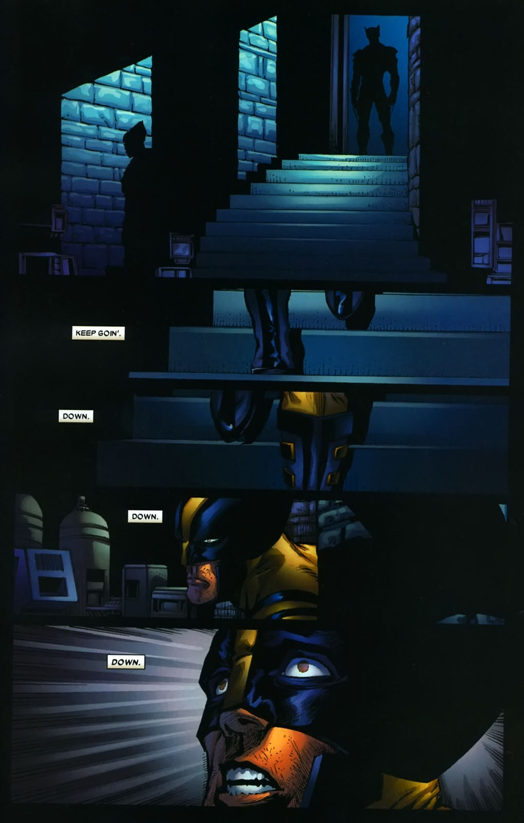 Read online Wolverine (2003) comic -  Issue #38 - 9