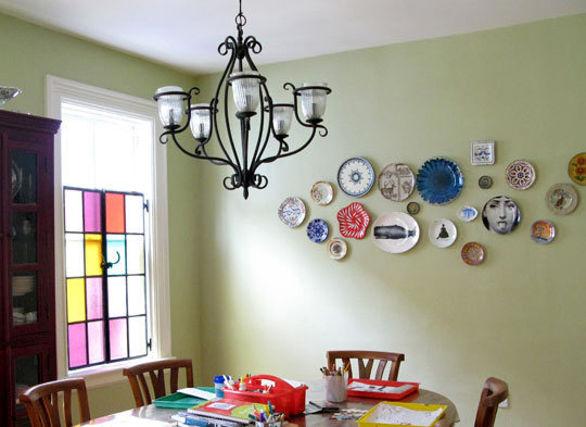 I don\u0027t think I would do something like this in my house and I can say for sure that I would not hang Thomas Paul melamine plates no matter how cute.  sc 1 st  Good Taste-Good Tasting - Blogger & Good Taste-Good Tasting: Plates on a wall