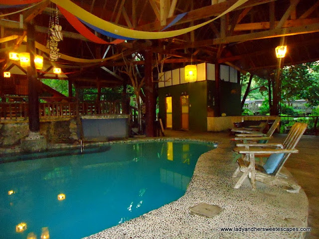 pool in Bohol Bee Farm