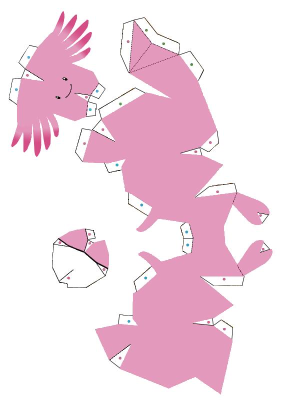 Easy Pokemon Papercraft