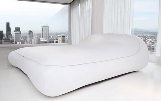 Designer beds are very comfortable with a bandage put forward futuristic  and elegant design.