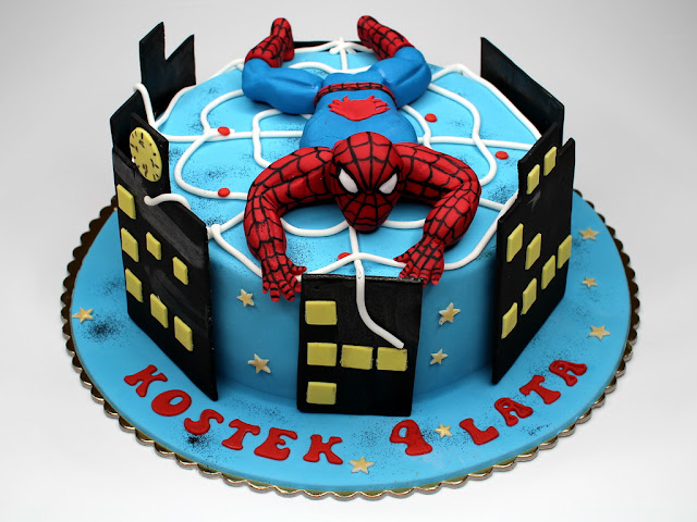 Spiderman Birthday Cake London