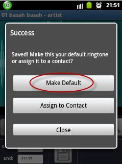 Cara edit Mp3 untuk ringtone android