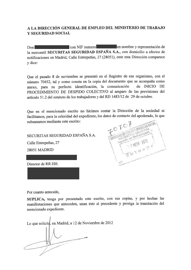 Sindicato profesional de vigilantes sevilla for Ministerio de seguridad espana