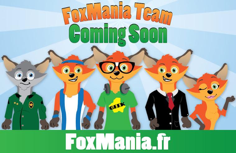 Lancement FoxMania.fr