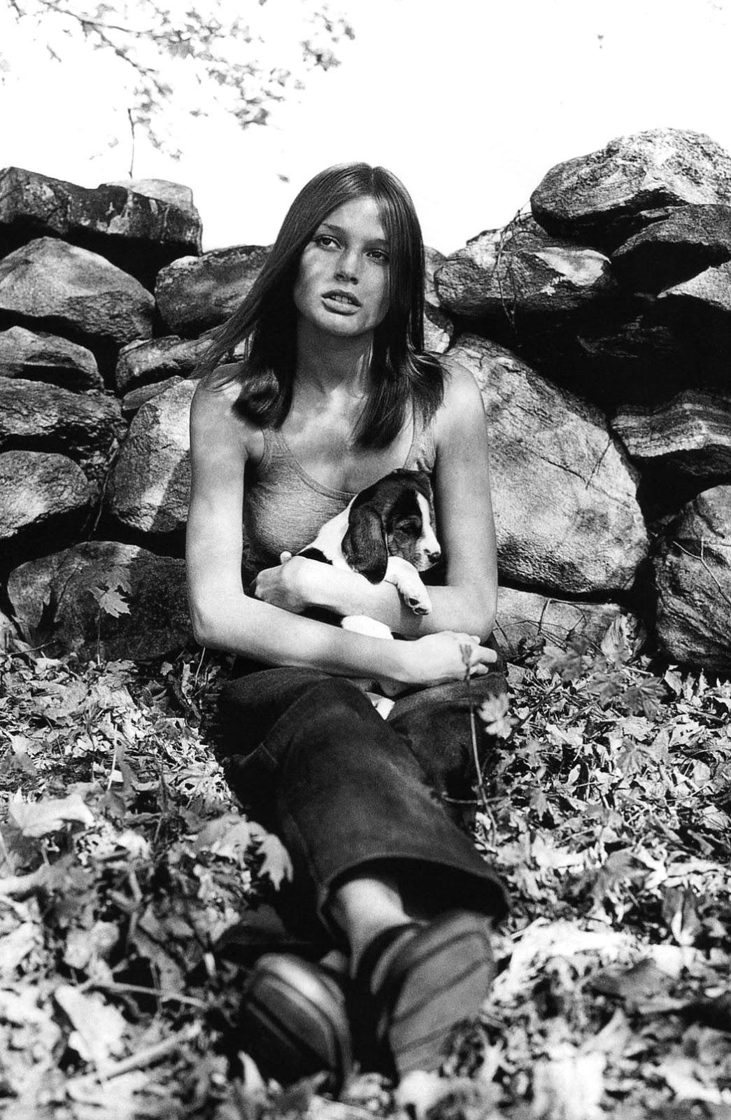 Bridget Hall in Harper's Bazaar July 1998 (photography: Mikael Jansson, styling: Elissa Santisi) via fashioned by love british fashion blog