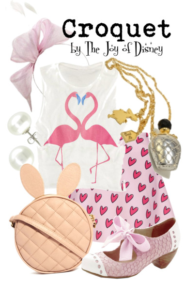 alice in wonderland, alice in wonderland fashion, alice in wonderland croquet, alice in wonderland flamingo, disney fashion