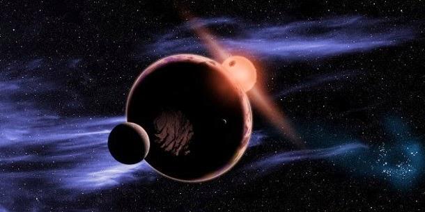 Porque são os planetas redondos?