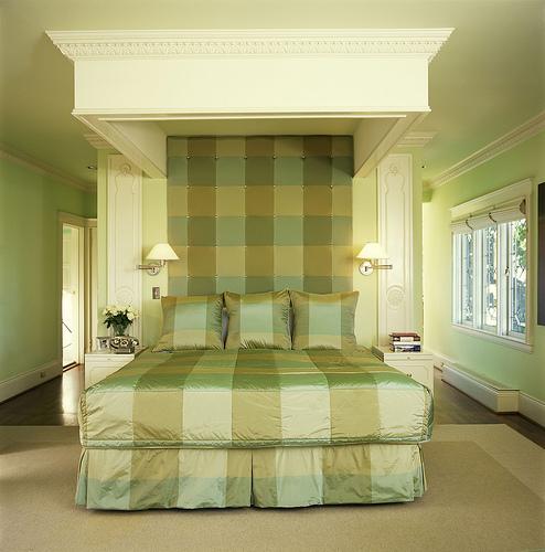 Chicago interiors demystifying monochromatic for Monochromatic bedroom designs