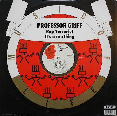Professor Griff – It's A Rap Thing (1990) (UK VLS) (320 kbps)