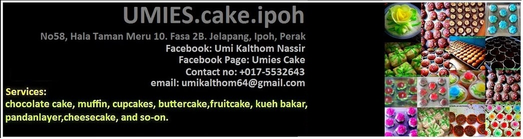 Umie's Cake Ipoh. Umikek Ipoh. Perak, Malaysia