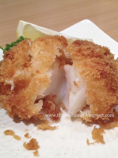 Hokkaido scallop katsu