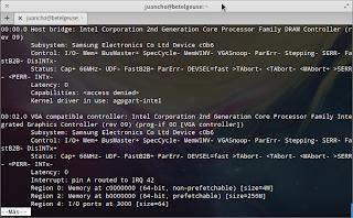 Obteniendo información de los periféricos en Linux