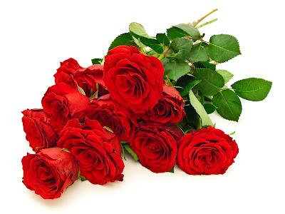 Arreglos florales de rosas rojas