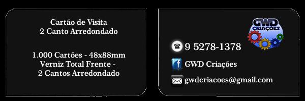 Cartão de Visita 2 Canto Arredondado - Grande São Paulo, Santo André, São Bernardo do Campo, São Caetano do Sul, Mauá e Ribeirão Pires