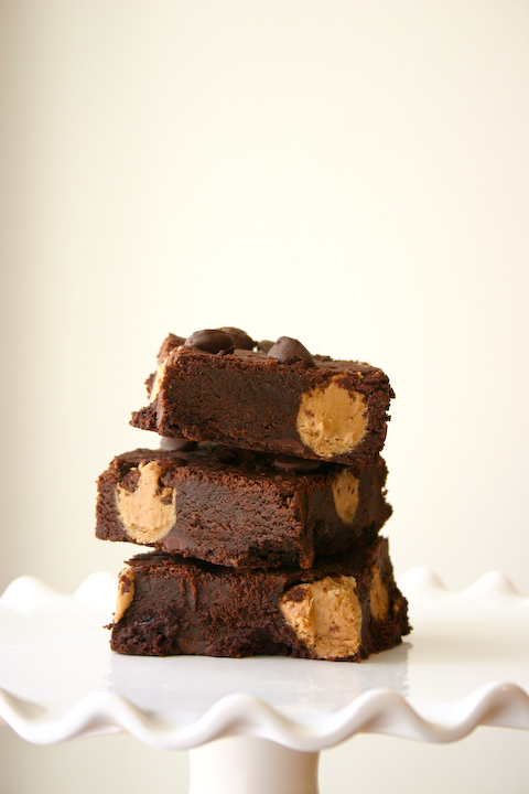 Brown Butter Cookie Butter Truffle Brownies + a C25K Update.