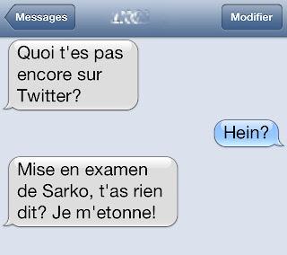 mise en examen de Sarko