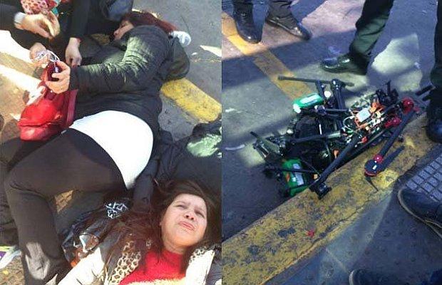 un dron hiere a dos mujeres en Argentina al caer sobre sus cabezas