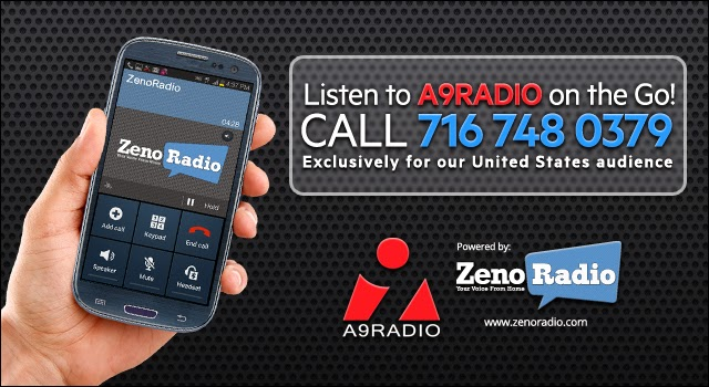 Listen to A9RADIO™ on the Go