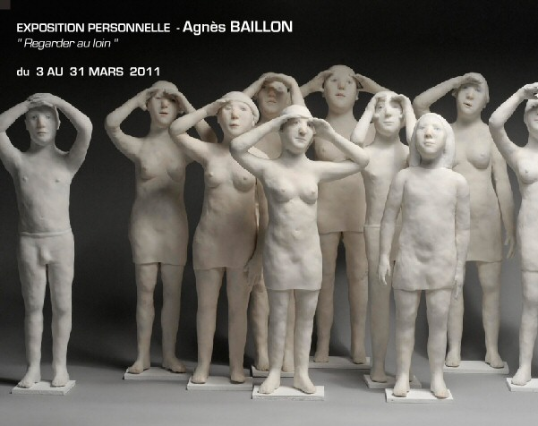 vernissage agnes baillon galerie felli