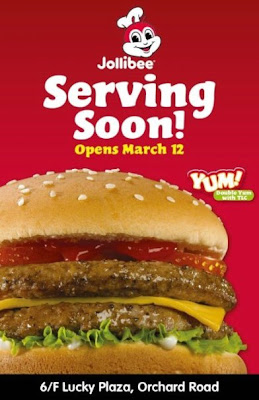 Jollibee Singapore Grand Opening March 12
