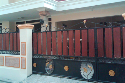 Gerbang Rumah Sederhana Minimalis Mewah