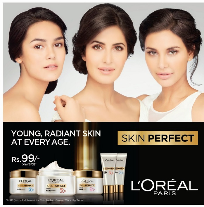 PR:L'oreal Paris Skin Perfect Range