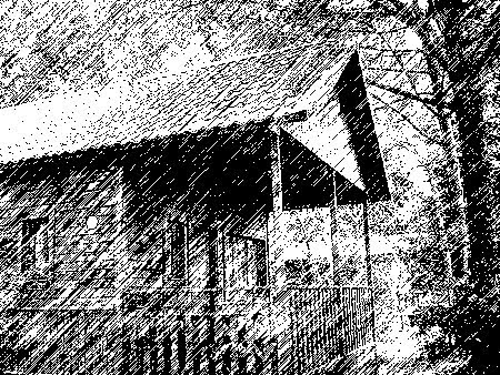 Na cabana