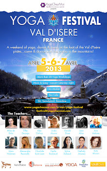 Yoga festival Val d'Isere 5th - 7th April