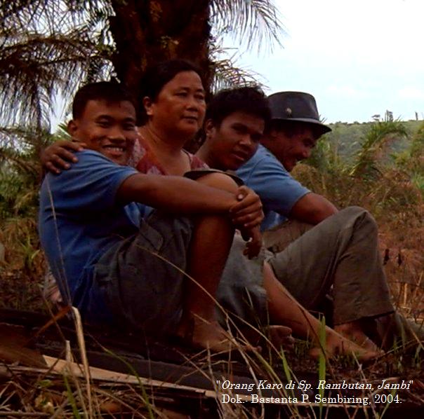 """Orang Karo di Simpang Rambutan - Suban, Jambi"" Dok. : Bastanta P. Sembiring"