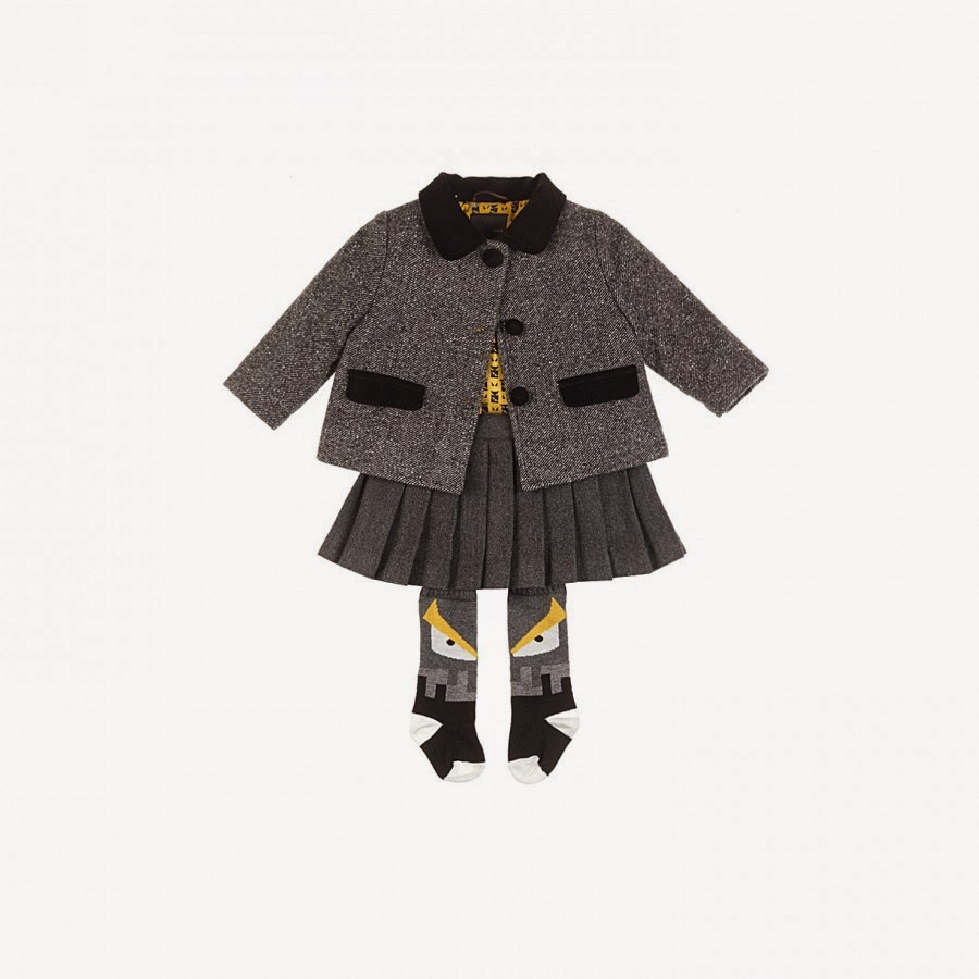 Baby Mode Dit Collection Automnehiver 2014 Fendi 2015Kid sxhtrdQC