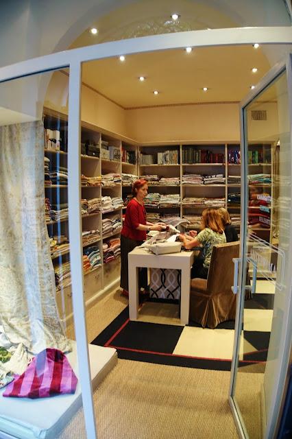 fabric boutique, Rome