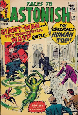 Tales to Astonish #50, Giant-Man v the Human Top