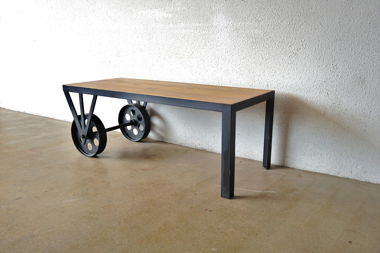 industrial furniture table. INDUSTRIAL FURNITURE 1: COFFEE TABLES AND SIDETABLES Industrial Furniture Table