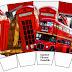Fiesta de Inglaterra: Cajas para Imprimir Gratis.