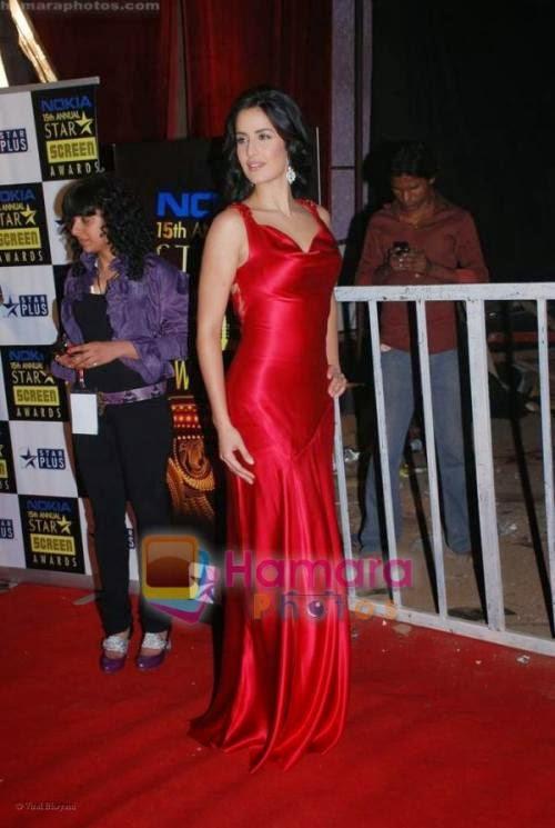 Katrina kaif in red star screen awards