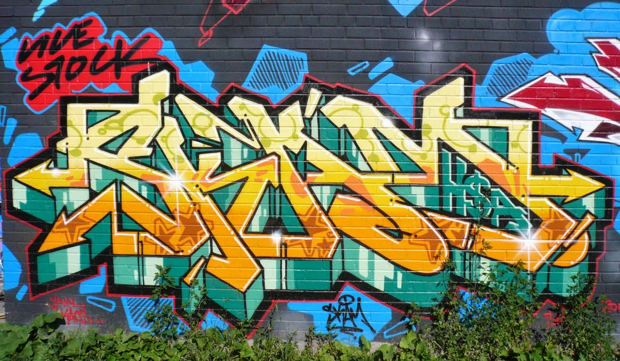 Hip Hop Graffiti Graffiti