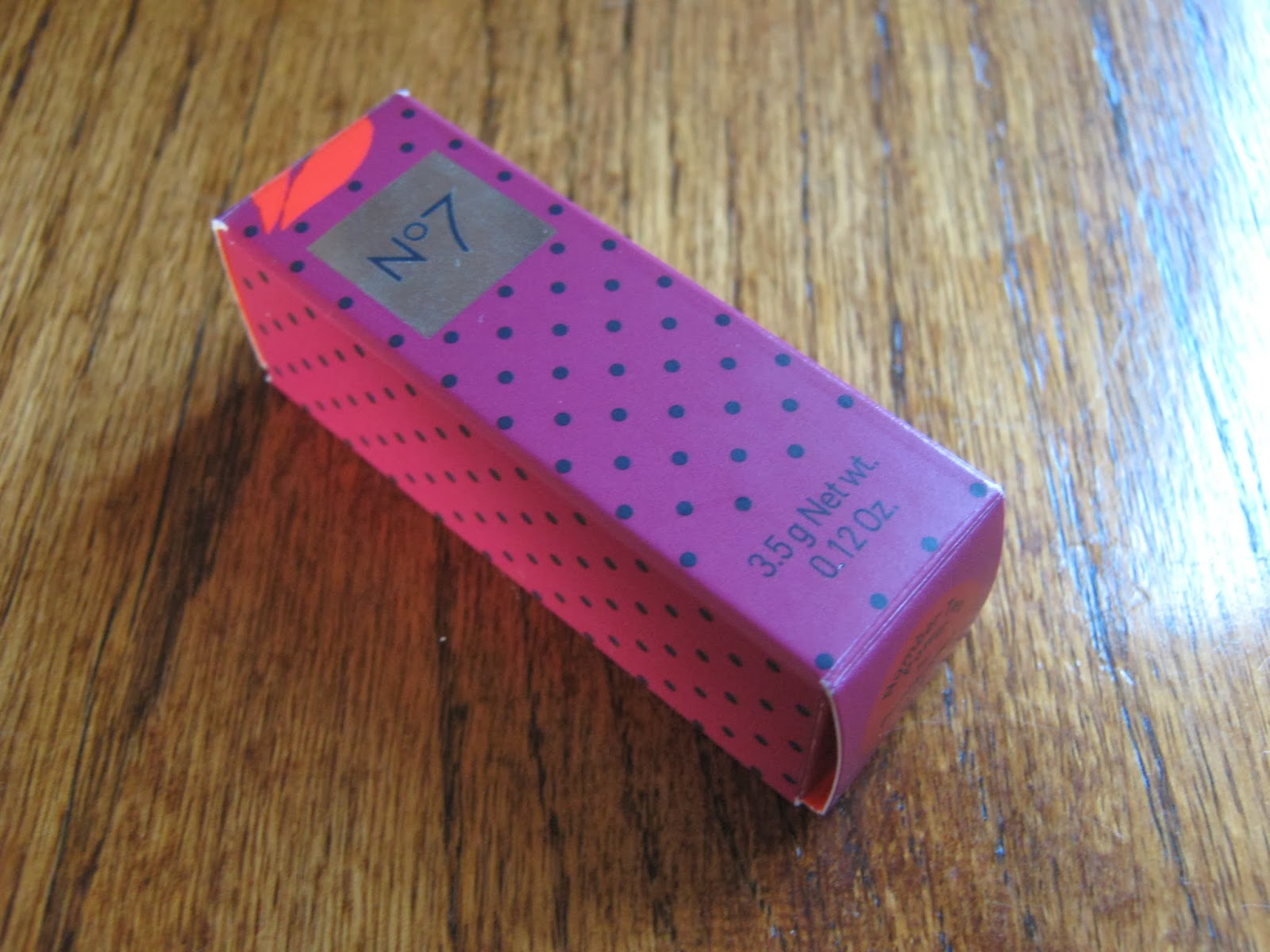 No7 Poppy King Lipstick Review