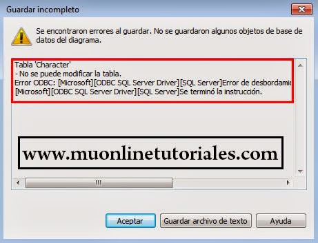 Error por desbordamiento de datos