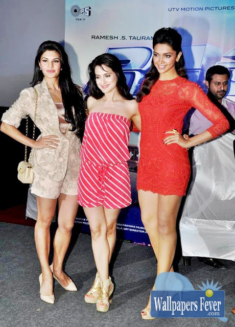 Jacqueline Fernandez,Ameesha Patel and Deepika Padukone hot images and photos