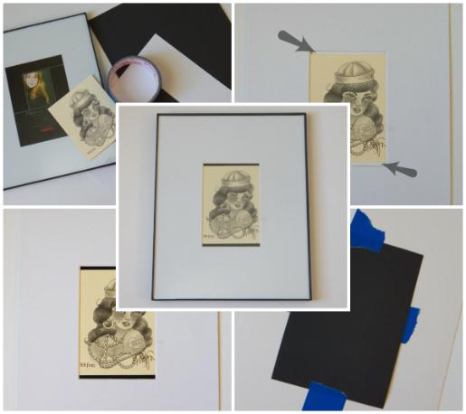 Laurendy Framing Odd Sized Art In Stanard Sized Frames